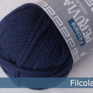 Peruvian Highæand Wool Navy Blue 145