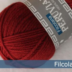 Peruvian Highland Wool Christmas Red 225