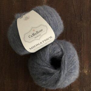 Midnatssol fra CaMaRose farve 9536 Jeansblå