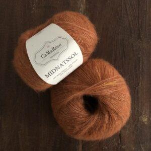 Midnatssol fra CaMaRose farve 9538 Brændt Orange