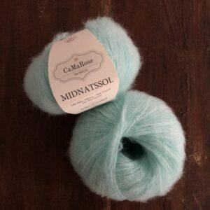 Midnatssol fra CaMaRose farve 9546 Lys Turkis