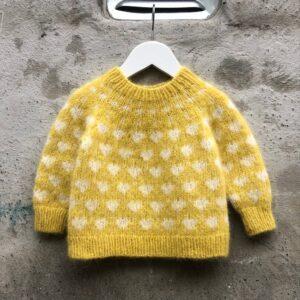 All Love Mini børne sweater fra Pixendk