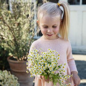 Blomstereng fra Filcolana Pigekjole