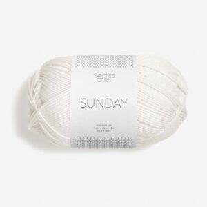 Sunday Hvid 1001