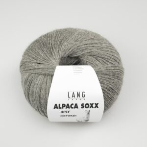 Lang Alpaca Soxx 96 Grå