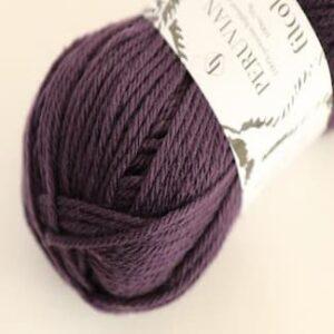 Spændende garn fra Filcolana - Peruvian Highland Wool Grape Royal 235