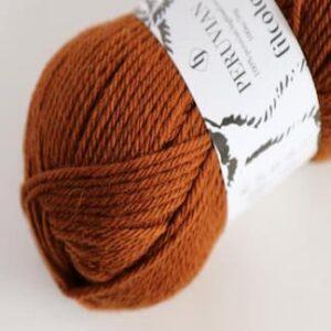 Spændende garn fra Filkolana - Peruvian Highland Wool Red Squirrel 352
