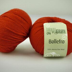 Spændende garn fra Tante Grøn CPH - Orange 116