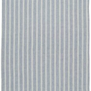 Viskestykke blå m/hvide striber